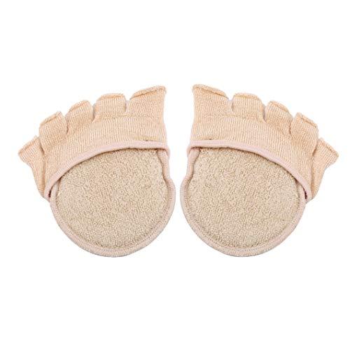 Sperrins Damen Zehensocken, unsichtbare Baumwollsocken, High Heels Socken Halbsocken, Open Toe Fuß Sandalen Socken