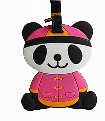 Etiqueta Para Equipaje Panda  marca Black Temptation