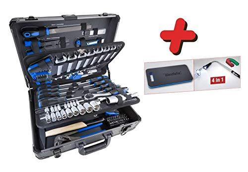 """Westfalia Werkzeug-Set im sortierten Werkzeugkoffer 105-teilig 3/8"""" / 1/4"""""""