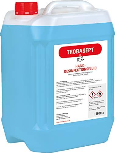 TROBASEPT Handdesinfektionsmittel 5.000ml, 80% (Vol.) Ethanol