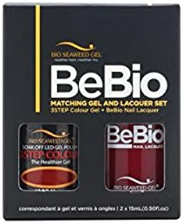 Bio Seaweed BeBio Matching Gel And Nail Lacquer Set (Mary #1005)
