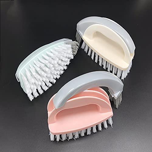 Cepillo Limpieza,Cepillo Limpieza hogar,Limpiar a Fondo Las baldosas y Juntas de baldosas y Eliminar el Moho de la Superficie,Color Aleatorio