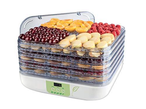 Beper Frutta & Verdura Essiccatore Digitale per Frutta e Verdura, ABS, Bianco Verde