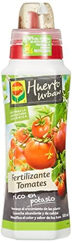 COMPO Fertilizantes para todo tipo de tomates, Fertilizante líquido natural, 500 ml
