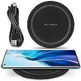 UC-Express QI Station de charge sans fil compatible avec Xiaomi Mi 10 / Pro/Ultra Chargeur sans fil...