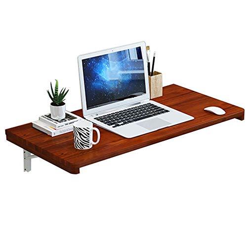 Hangende opbergtafel bureau, inklapbare laptopstandaard, bureau-keukenrek, salontafel meerkleurig en in verschillende maten van 70 x 30 cm 60 x 40 cm-b