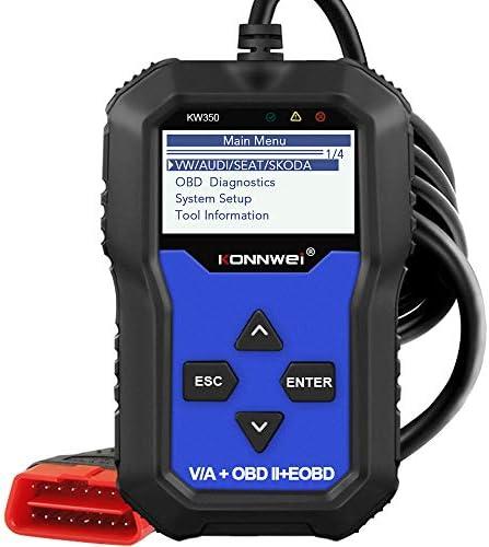 KONNWEI KW350 Full System OBD2 Diagnostic Scanner for VW Audi Skoda Seat Code Reader Automotive product image