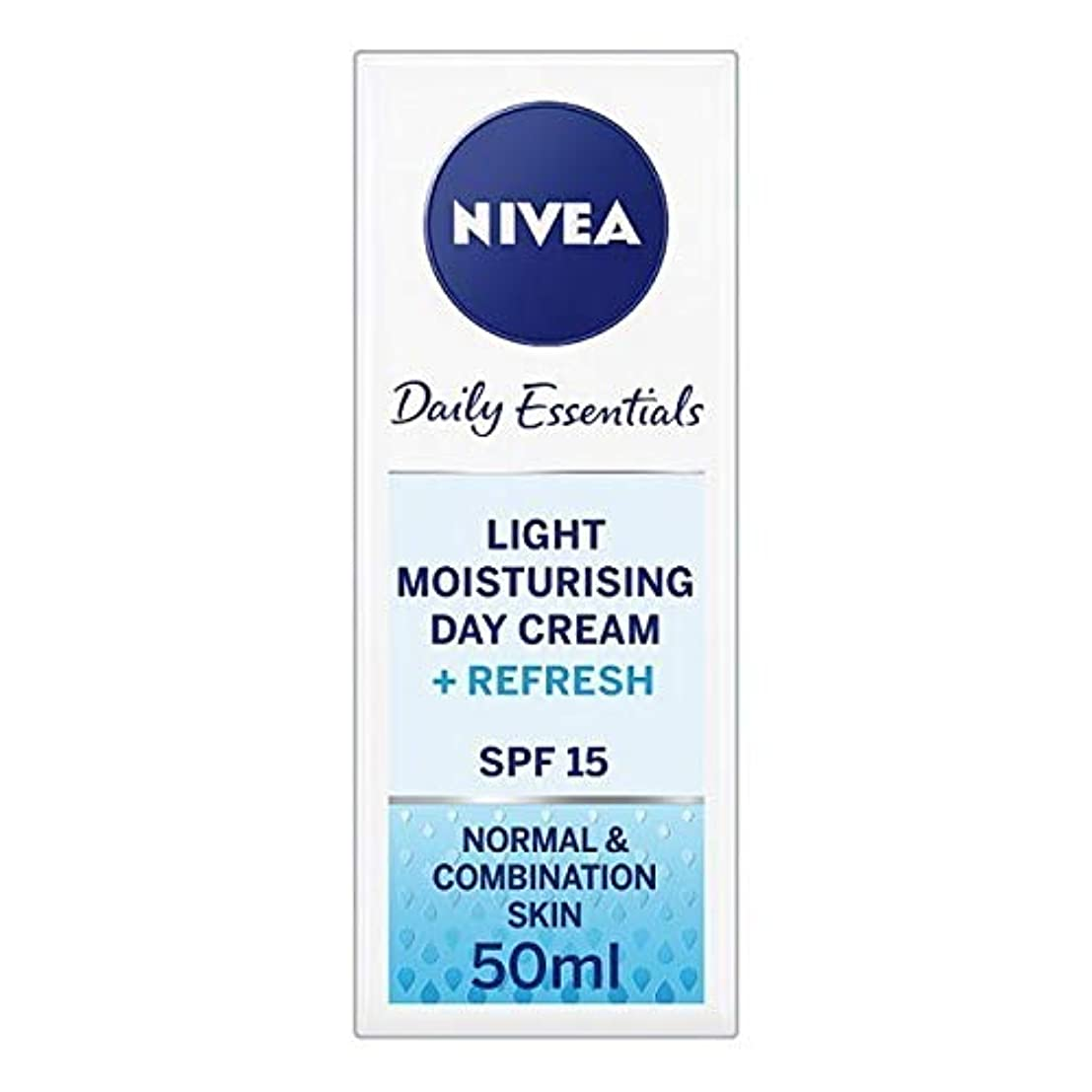 誇張する運動円形[Nivea ] ニベアフェイスクリームライトモイスチャライザー、50ミリリットル - NIVEA Face Cream Light Moisturiser, 50ml [並行輸入品]