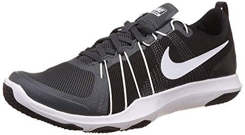 Nike Flex Train Aver, Zapatillas de Gimnasia Hombre, Negro (Anthracite/White-Black), 47