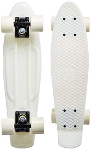 MAXOfit® Mini Cruiser Retro Skateboard Michigan, 55 cm mit ABEC 9 Kugellagern, sehr Gute Verarbeitung