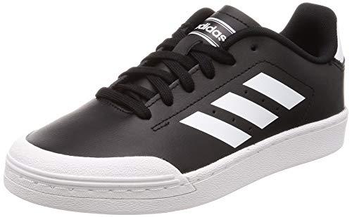 adidas COURT70S, Zapatillas de Deporte para Niños, Negro (Negbás/Ftwbla/Ftwbla 000), 36 EU