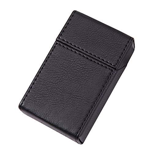シガレットケース 革調 タバコケース 喫煙具 煙草ケース 収納ケース大容量 小型 携帯に便利です ストレス耐性 防水 ファッション紳士 ポータブル ポケット たばこ ケース 20本収納