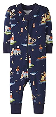 Hanna Andersson Night Night Sleeper in Organic Cotton Pirate Port - 50