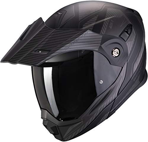 Scorpion ADX-1 TUCSON Matt Black-Black Carbon L