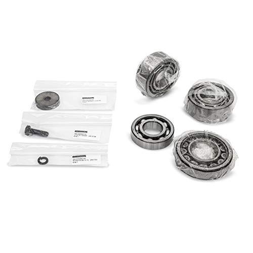 Robuschi Kit Ersatzteile Lager STD für RBS 35-45-46 RB2848260000 Lobe Blower Bearing NJ 2208 Bearing 6207-C3 Bearing 3207-C3 Screw TE 10X030 UNI 5739 Bearing Lock Dick A 10,5 UNI 1751 7-teiliges Set