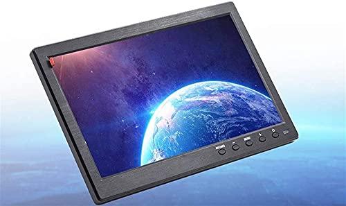 Jules 10.1'HD Monitor for Mini TV y coche Video Player y pantalla de computadora Pantalla de color LCD TFT para cámara de respaldo de automóviles y sistema de seguridad para el hogar incorporado en S