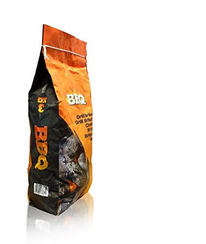 Slabo Grill Briketten | BBQ | Holzkohlebriketts | Grillkohle | Grillbriketten | Holzkohle | Briketts | Kohle - 10er-Set (30 kg)