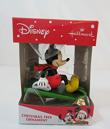 Disney Hallmark Christmas Tree Ornament Mickey