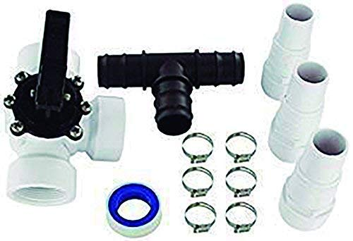 well2wellness® Pool Bypass Set 12-teilig für Solarheizung Pool (023919)