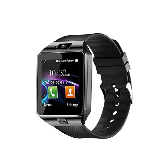 YTYCJSFH Smart Fashion Q18 - Reloj de pulsera para smartphone, color negro