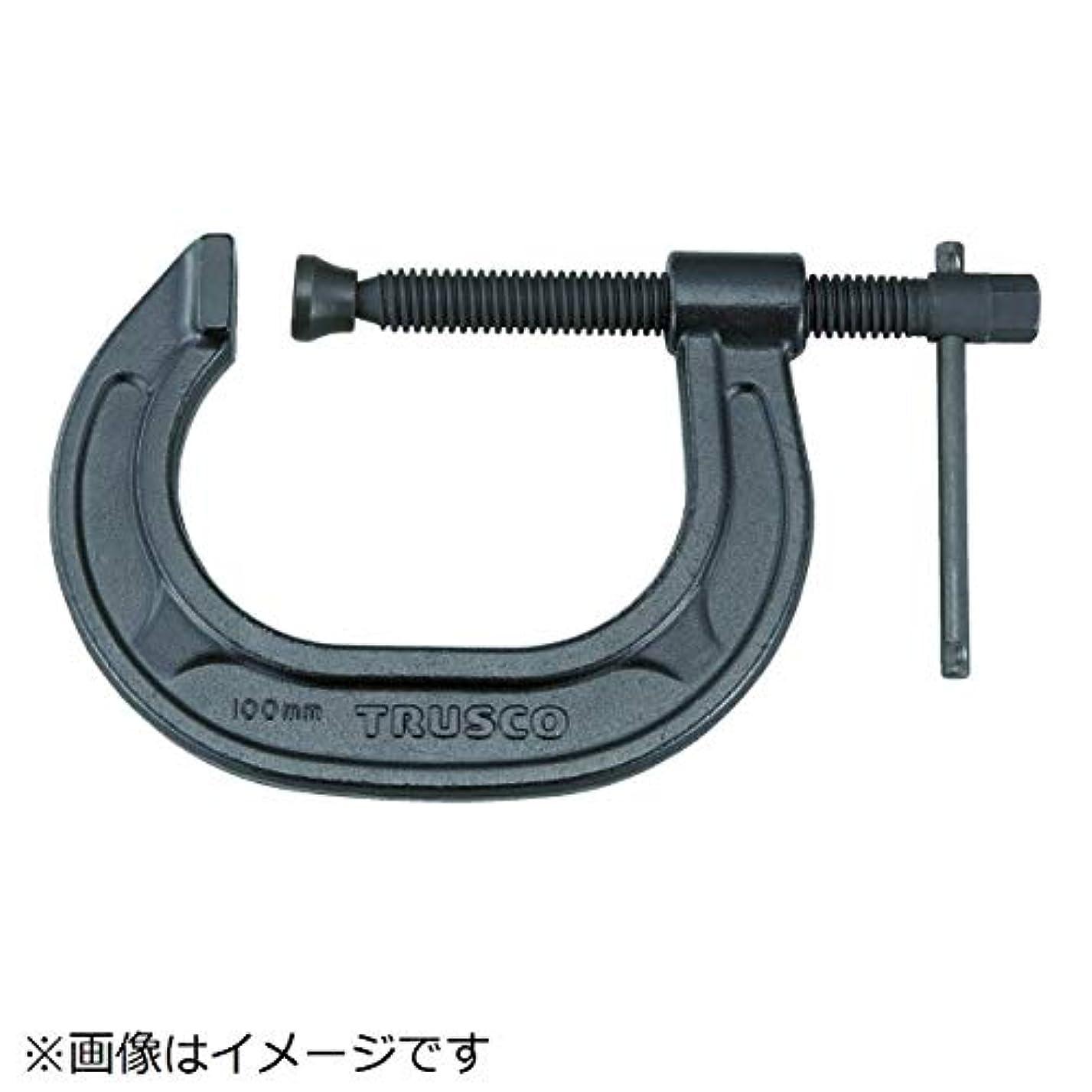 伸ばすロータリー評価するTRUSCO(トラスコ) C型シャコ万力 200mm TCC-200N