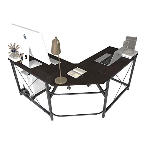 soges Bureau d'Angle Ordinateur Bureau Informatique Table Informatique,LD-Z01-MO