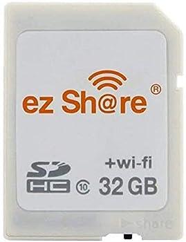 ez Share 8GB 16GB 32GB Card Adater WiFi SD Memory Card WiFi SDHC Class10 SD Card Wireless Camera Memory Card for Camera 32GB