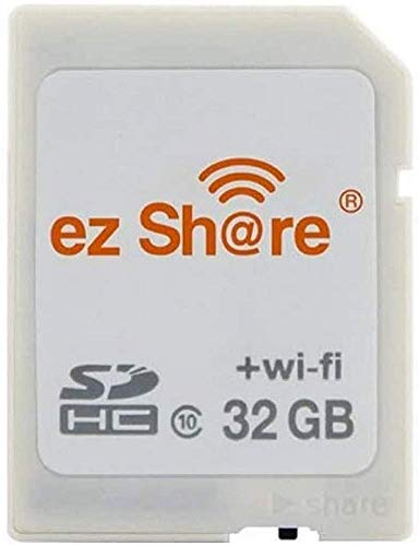 ez Share 8GB 16GB 32GB Card Adater WiFi SD Memory Card WiFi SDHC Class10 SD Card Wireless Camera Memory Card for Camera (32GB)