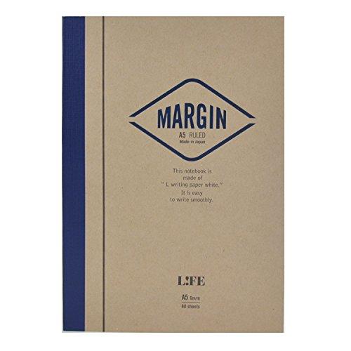 ライフ ノート MARGIN B5 青 N702