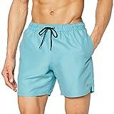 Farah Colbert Plain Pantalones Cortos, Arrecife Verde, XL para Hombre