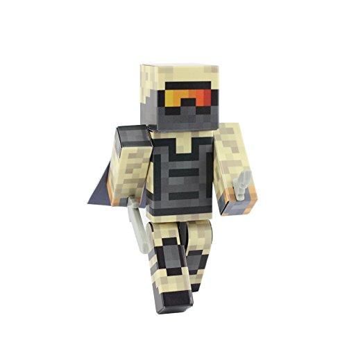 EnderToys Figura de acción del soldado del desierto, figuras de serie personalizadas de 4 pulgadas