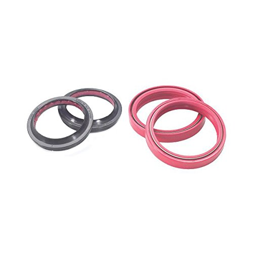 Outlaw Racing OR56132 Fork Oil Seal & Dust Seal Kit- Triple Lip Seal Design Dust Wiper – EXCeeds OEM – Prolongs Seal Life By 3 To 5 Times Over OEM Seals
