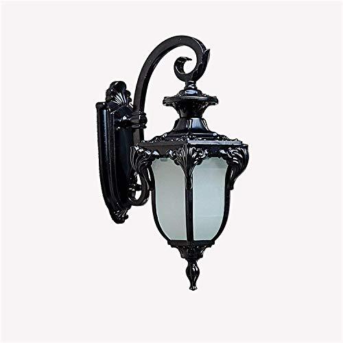 LAMTON Lámpara de Pared al Aire Libre Europeo Retro Luces Luces Impermeable Pasillo balcón Americano balcón Vintage Pared escoce Foco Luces de Pared Creativa
