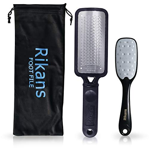 Rikans Colossal Foot File, Professional Foot Rasp Callus Remover, Foot Care Pedicure Tool to Remove Hard Skin,Can Be Used on...