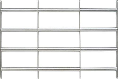 ABUS Fenstergitter FGI7600 - Gitter zur Einbruchsicherung von Keller- und Erdgeschossfenstern - 700-1050 x 600 mm - 73433