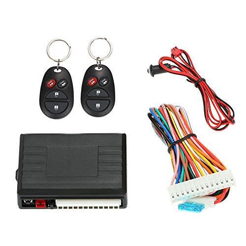 KKmoon Zentralverriegelungen, Auto Türschloss Keyless Entry System,Keyless Open für vorhandene Original-Zentralverriegelung, Universal,mit Trunk Freigabetaste
