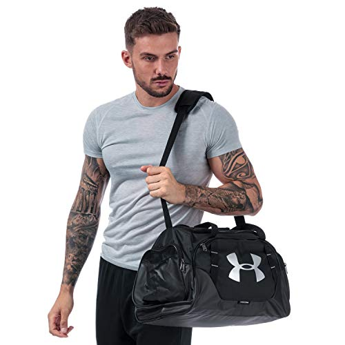 Under Armour Undeniable Duffle 3.0 Gym Bag , Black (001)/Silver , Medium