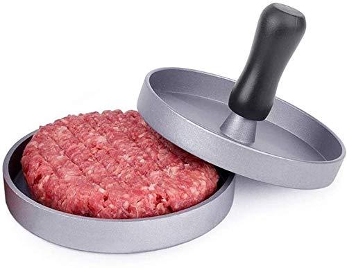 Prensa de parrilla de forma redonda antiadherente, fabricante de carne de res, herramienta de fabricación de moldes para empanadas, máquina de prensado de hamburguesas de embalaje múltiple
