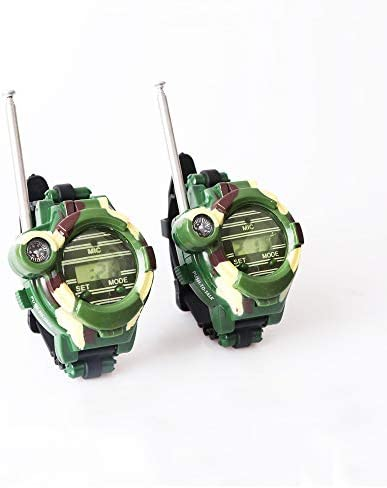 Umootek Walkie Talkie Watch for Kids Multifuction 7 in 1 Two Way Radio Walky Talky Watches Long product image