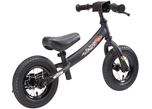 BIKESTAR Kinder Laufrad Lauflernrad Kinderrad für Jungen und Mädchen ab 2-3 Jahre | 10 Zoll Sport Kinderlaufrad | Schwarz - 5