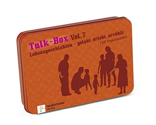 Talk-Box Vol. 7 - Lebensgeschichten - gelebt, erlebt, erzählt: 120 Impulskarten: 120 Gesprächskarten