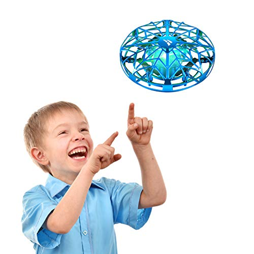SNAPTAIN Hand Operated Drone for Kids or Adults, Flying Toys Mini Drones with 3D Flips,Circle Flight, Throw'n Go, 2 Speed Adjustment and One Key Takeoff/Landing