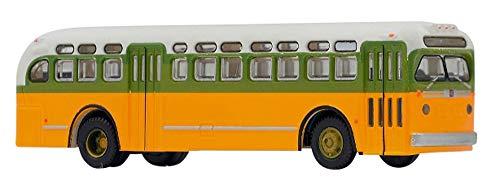 Tomytec 264330 - Bus-systeem, GMC-bus, voertuigen, geel
