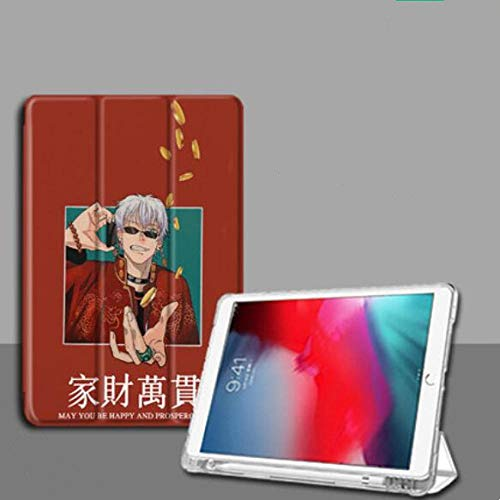 Compatible with iPad Protective Case,Children Gifts Ipad Animation Gojo Satoru Anti Fall Tablet Case Tri Fold With Pen Slot ICompatible with pad Mini 5