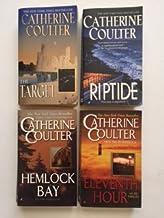 Catherine Coulter (Set of 4 FBI) The Target; Riptide; Hemlock Bay; Eleventh Hour