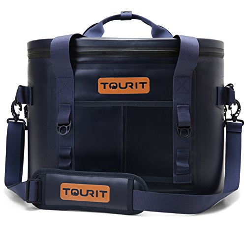 TOURIT ソフトクーラー クーラーボックス 保冷バッグ 驚異の保冷力 撥水加工 14L
