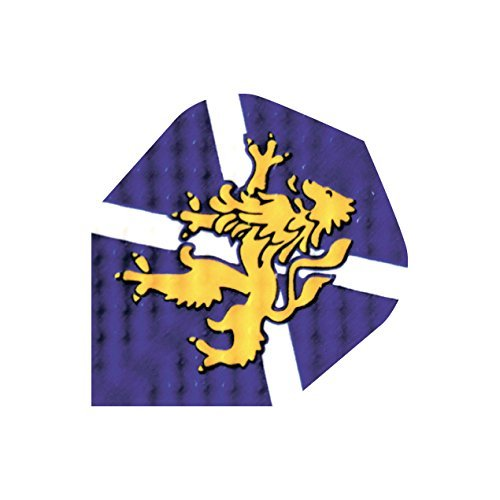 US Darts - 3 Sets (9 Flights) Dimplex Standard Schottland Flagge Dart Flights