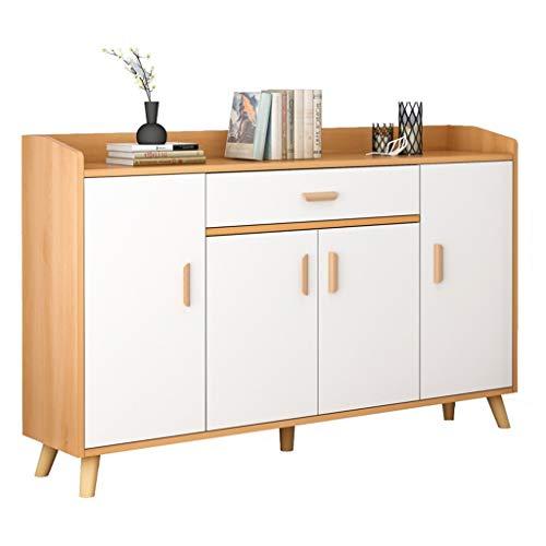 Yhjkvl Zapatero para pasillo de muebles, simple y moderno, multifunción, zapatero para puerta, simple, ultrafino, color madera maciza, color nórdico, organizador de almacenamiento de zapatos