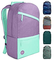 Simple Modern Legacy Backpack is ideal for school, work, traveling, and everyday use for men, women and kids Features padded laptop sleeve, tablet sleeve, small pockets for pens and USBs, zip-closure mesh pocket, two exterior zip-closure pockets, two...