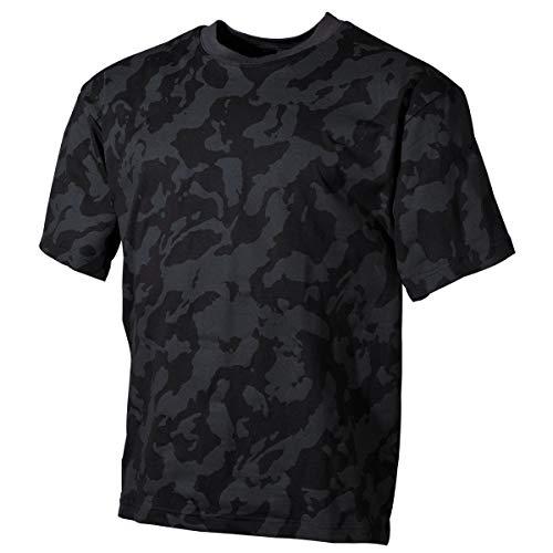MFH 00104D US Army Herren Tarn T-Shirt (Night Camo/XXL)